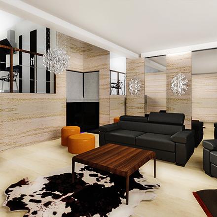 salon w domu jednorodzinnym proste wnętrze (3)