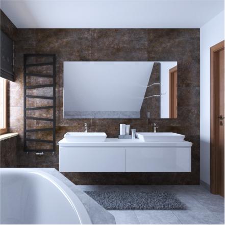 projektowanie wnętrz - łazienka pod skosem