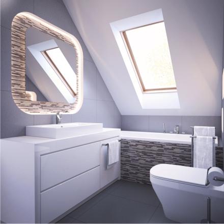 projekt łazienki o nowoczesnych wnętrzach