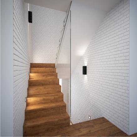 projekt klatki schodowej w domu