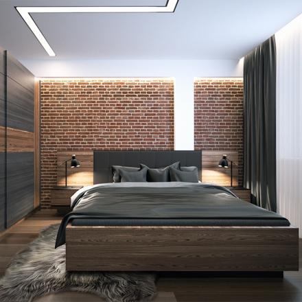 projektowanie sypialni w Krakowie - APP Proste Wnętrze