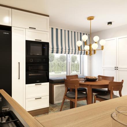 projekty wnętrz kuchni od projektant wnętrz Marii Podobińskiej