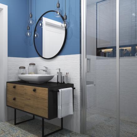 Projektowanie wnętrz łazienki z mocnymi akcentami
