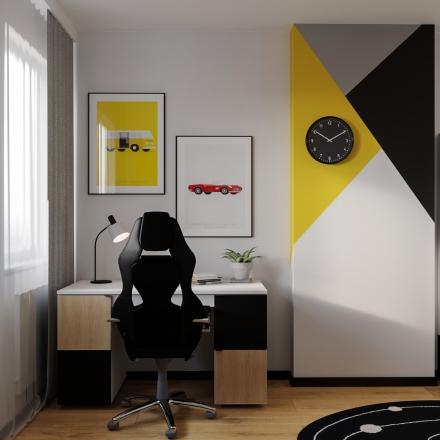 projektowanie pokoju dla chłopca w Krakowie