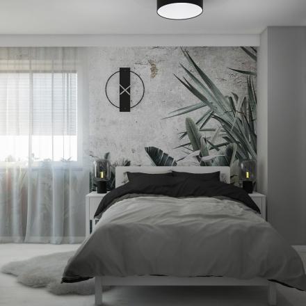 projektowanie zielonej sypialni